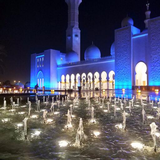 Мечеть шейха Зайда в Абу-Даби…
