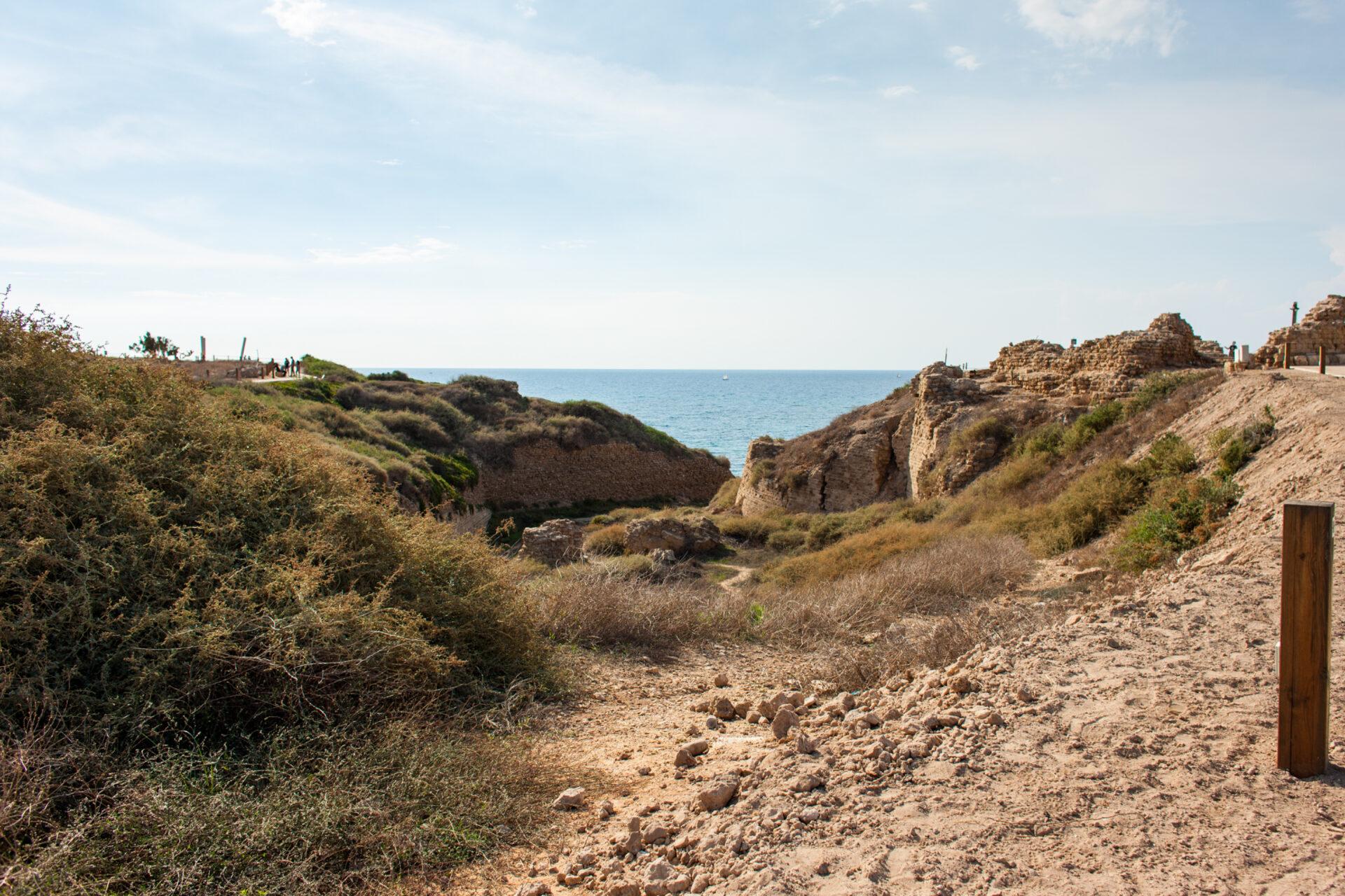 Аполлония национальный парк -Израиль.