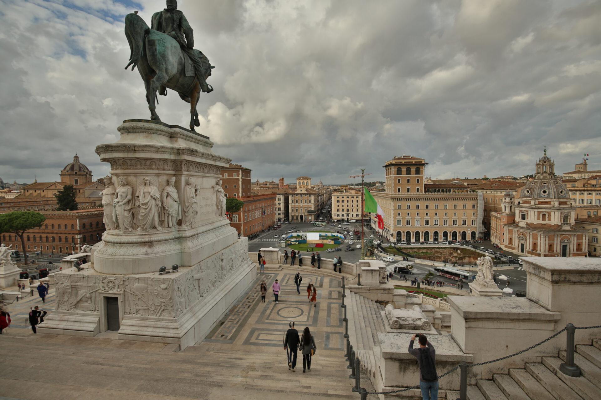Площадь Венеции, Колизей иФорум ч.6