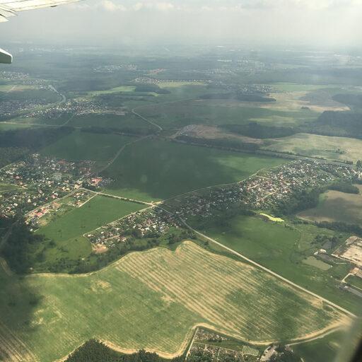 Мир из окна самолета