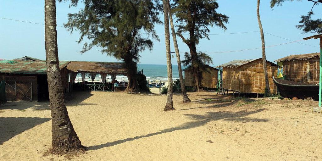 Пляж Арамболь в Гоа