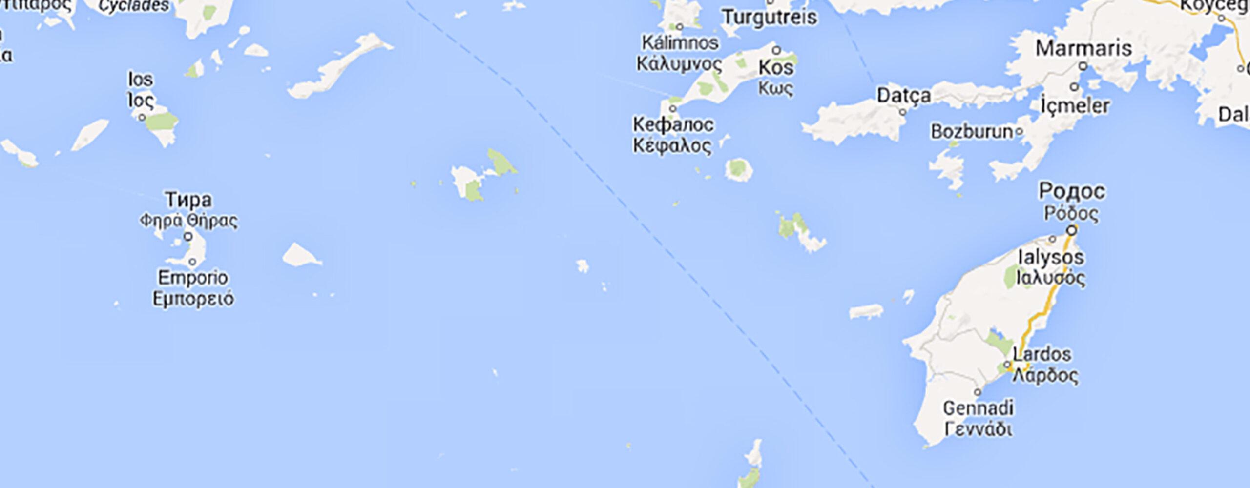 ПоДодеканесским островам. Часть 1