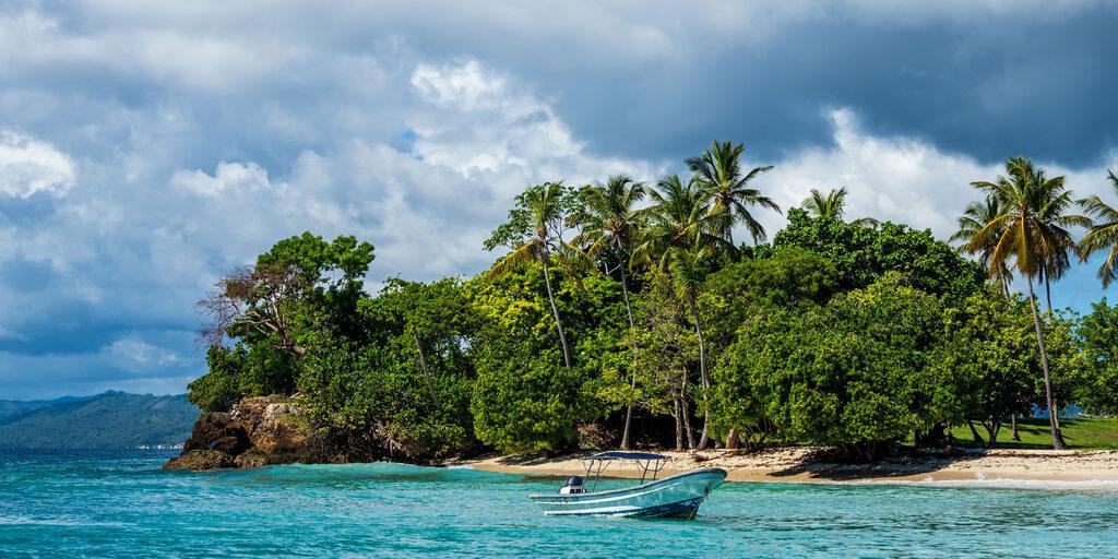 Доминикана. На острове (Playa Cayo Levantado)