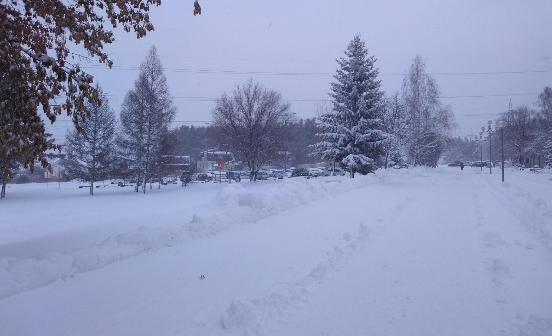 Тыпочему, зима, всегда такая внезапная?!