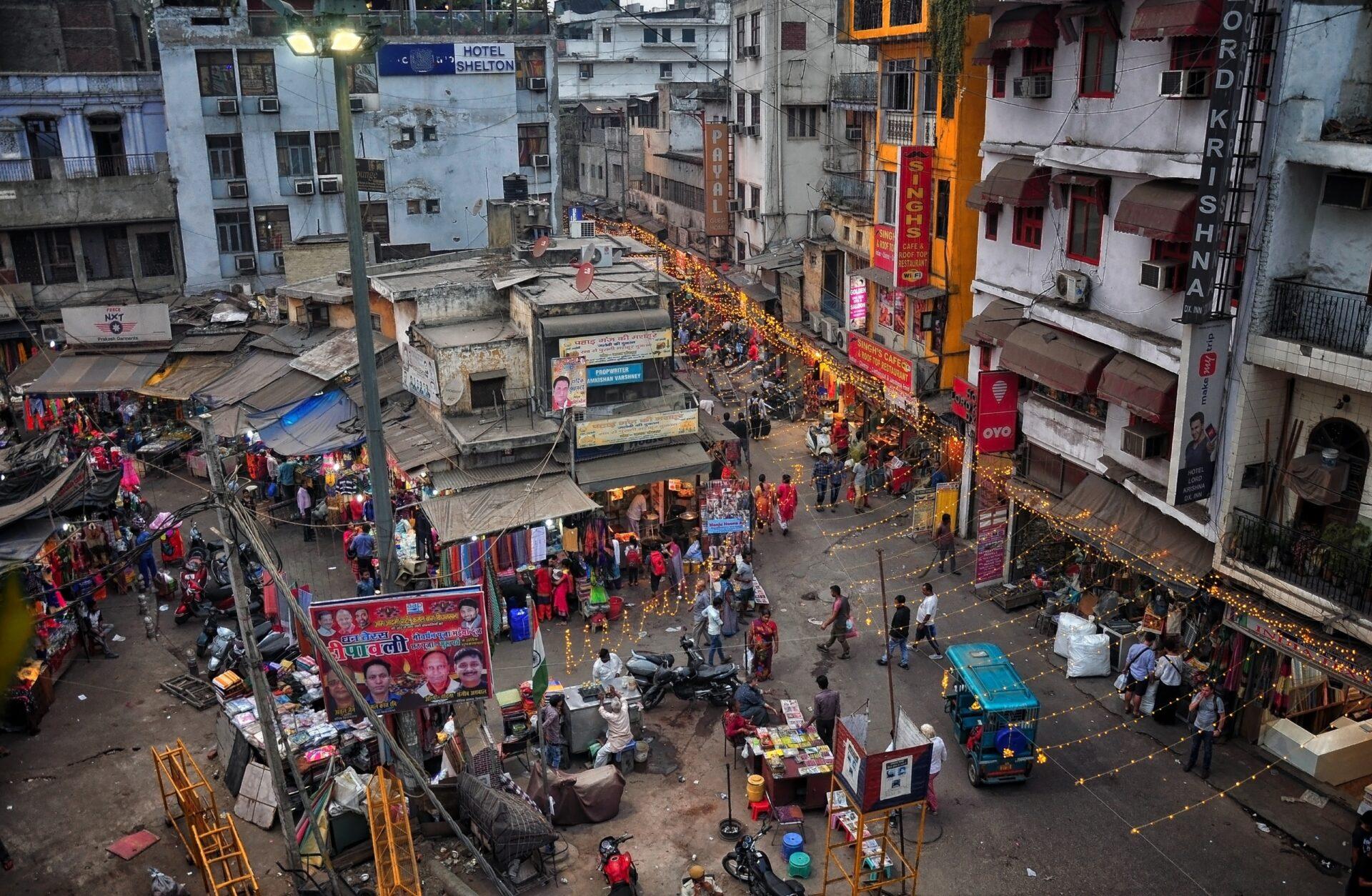 Блеск инищета Индии: Дели