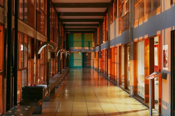 Unite d'Habitation LeCorbusier. Жилая единица Марселя