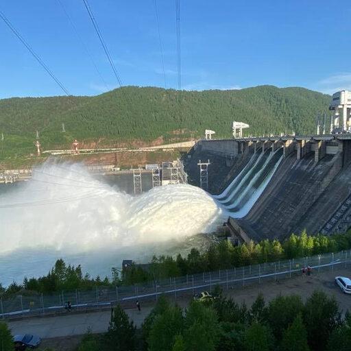 Красноярская ГЭС и паводок в Красноярске