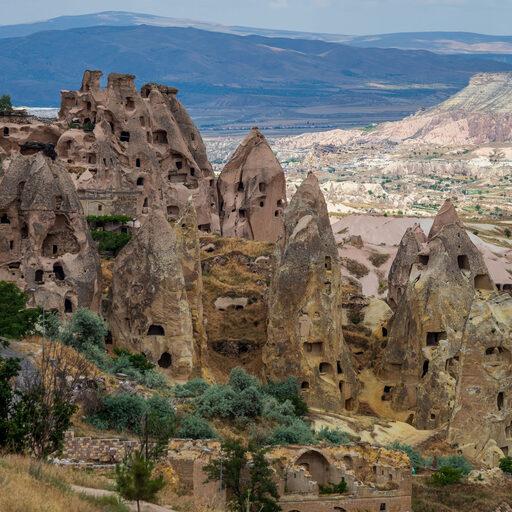 Каппадокия. Город-крепость Учхисар