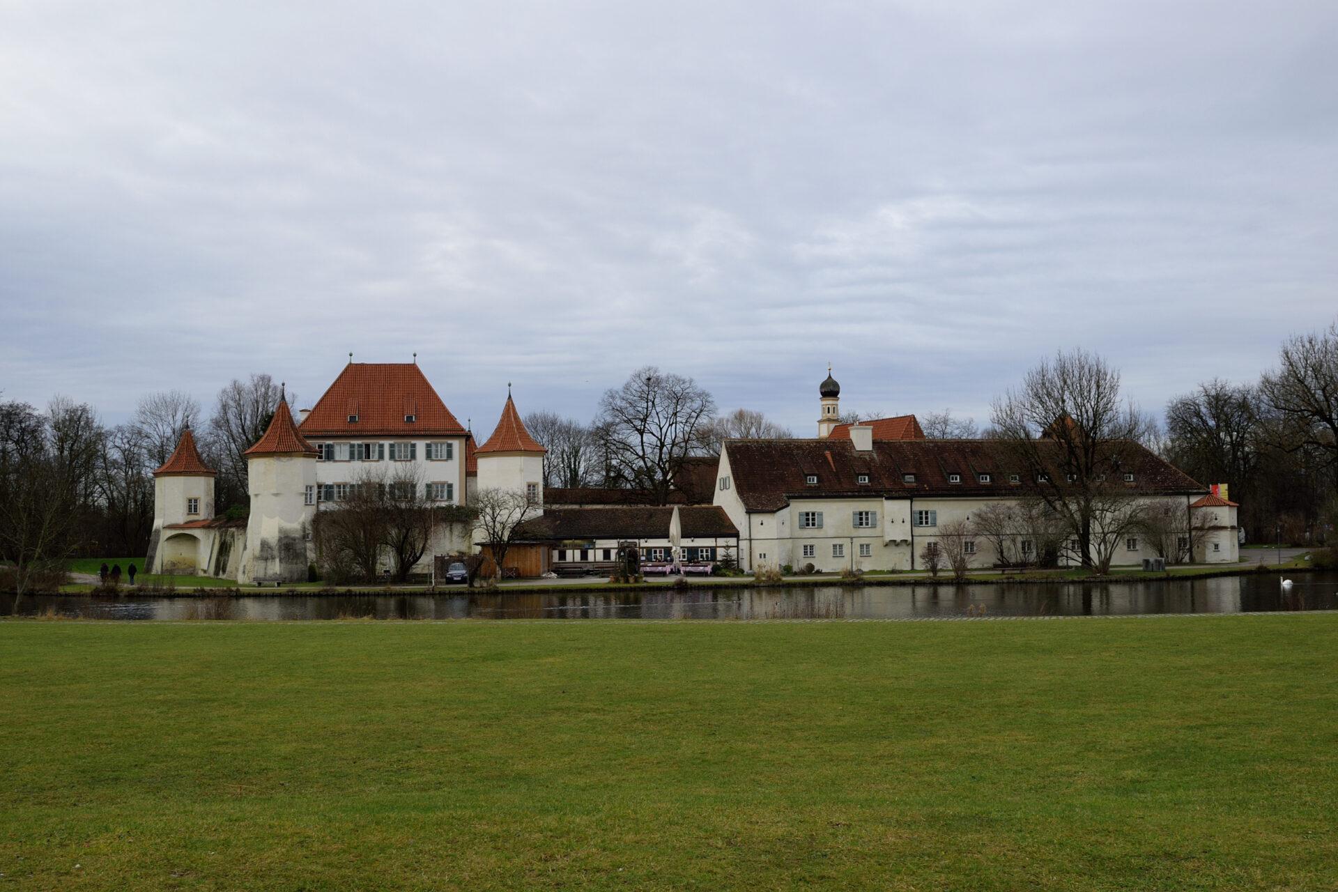 Замок Блютенбург.