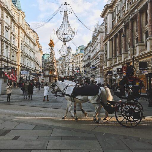 Vienna, Salzburg, Hallstatt, Innsbruck, Austria