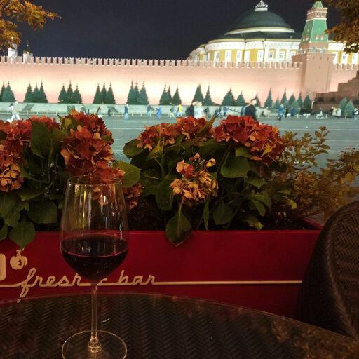 Красная площадь… осень…