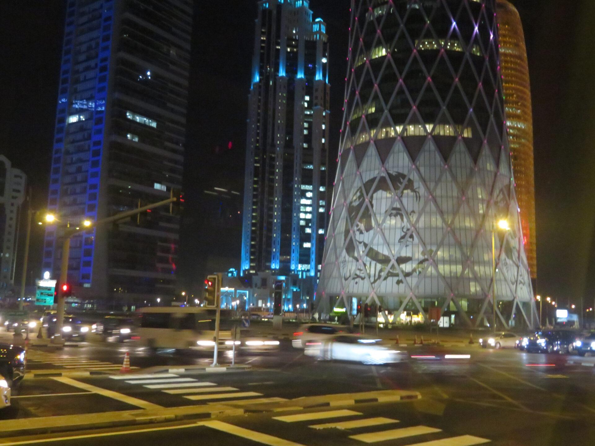 Катар— транзит