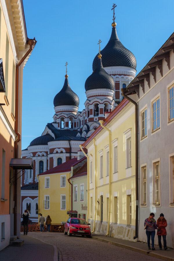 Таллин. Эстония. Старый город.