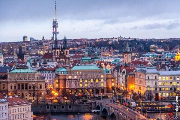Где Прага?
