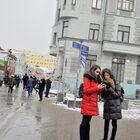 Март вМоскве.
