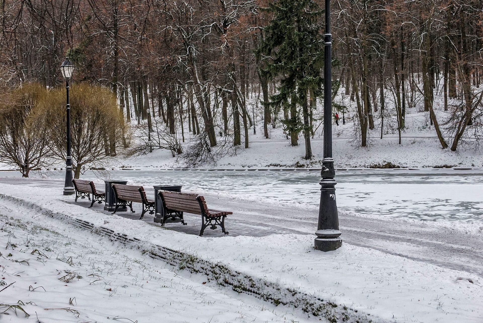 Москва. Парк Царицыно вдекабре.