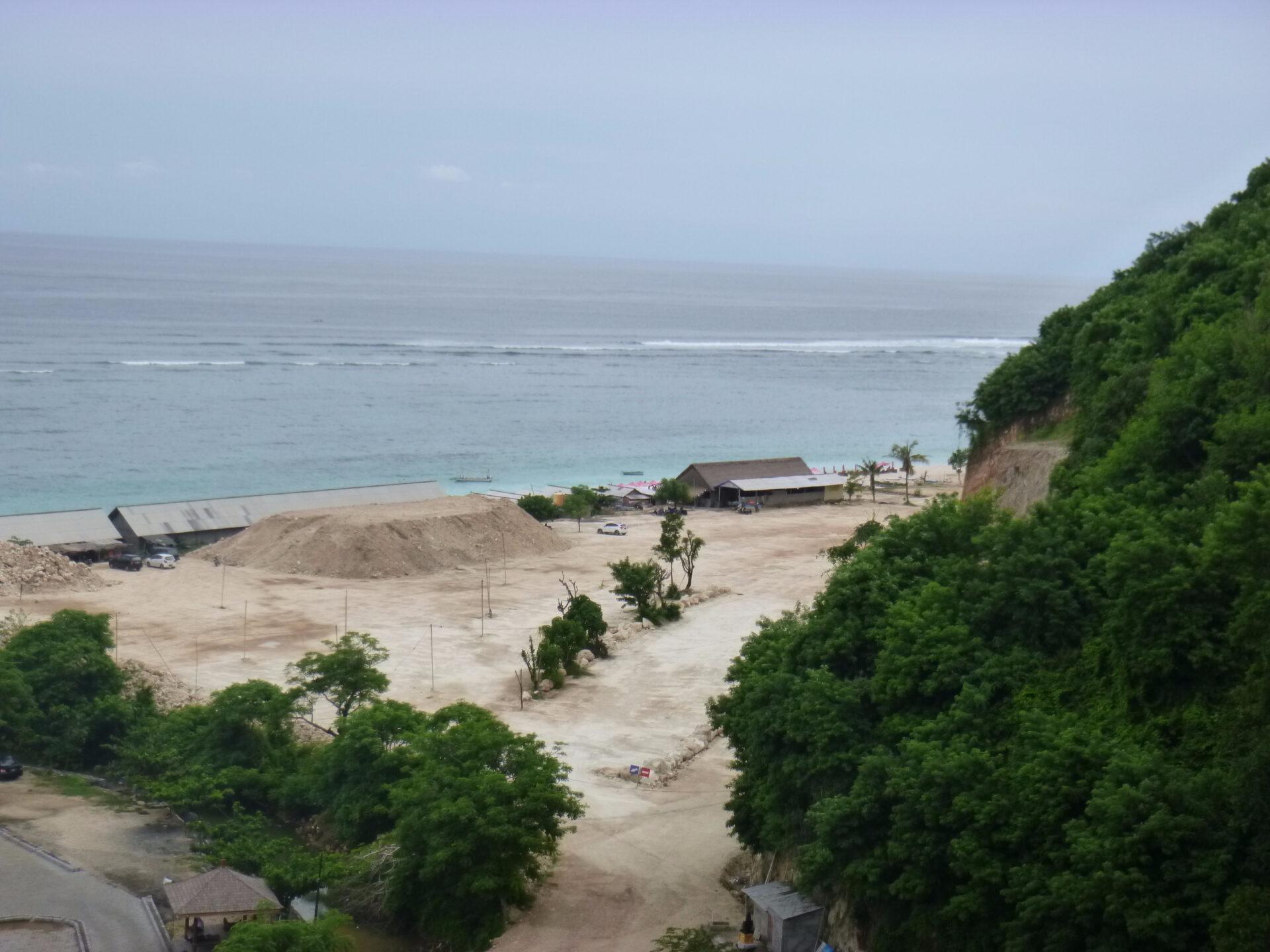 Пандава. Практически городской пляж